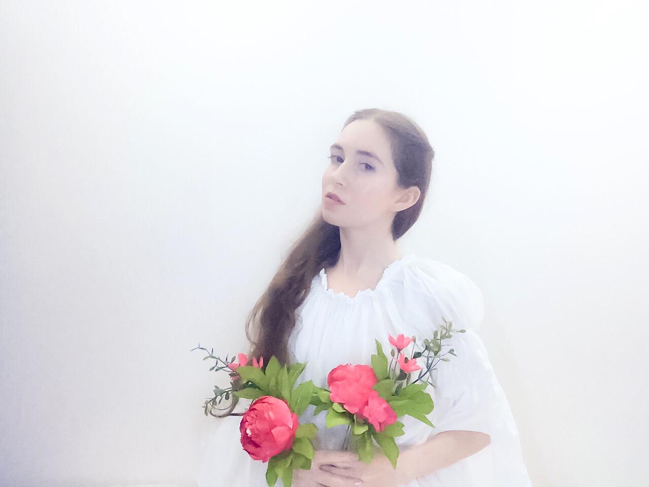 Angel of Flowers by Joan Pope