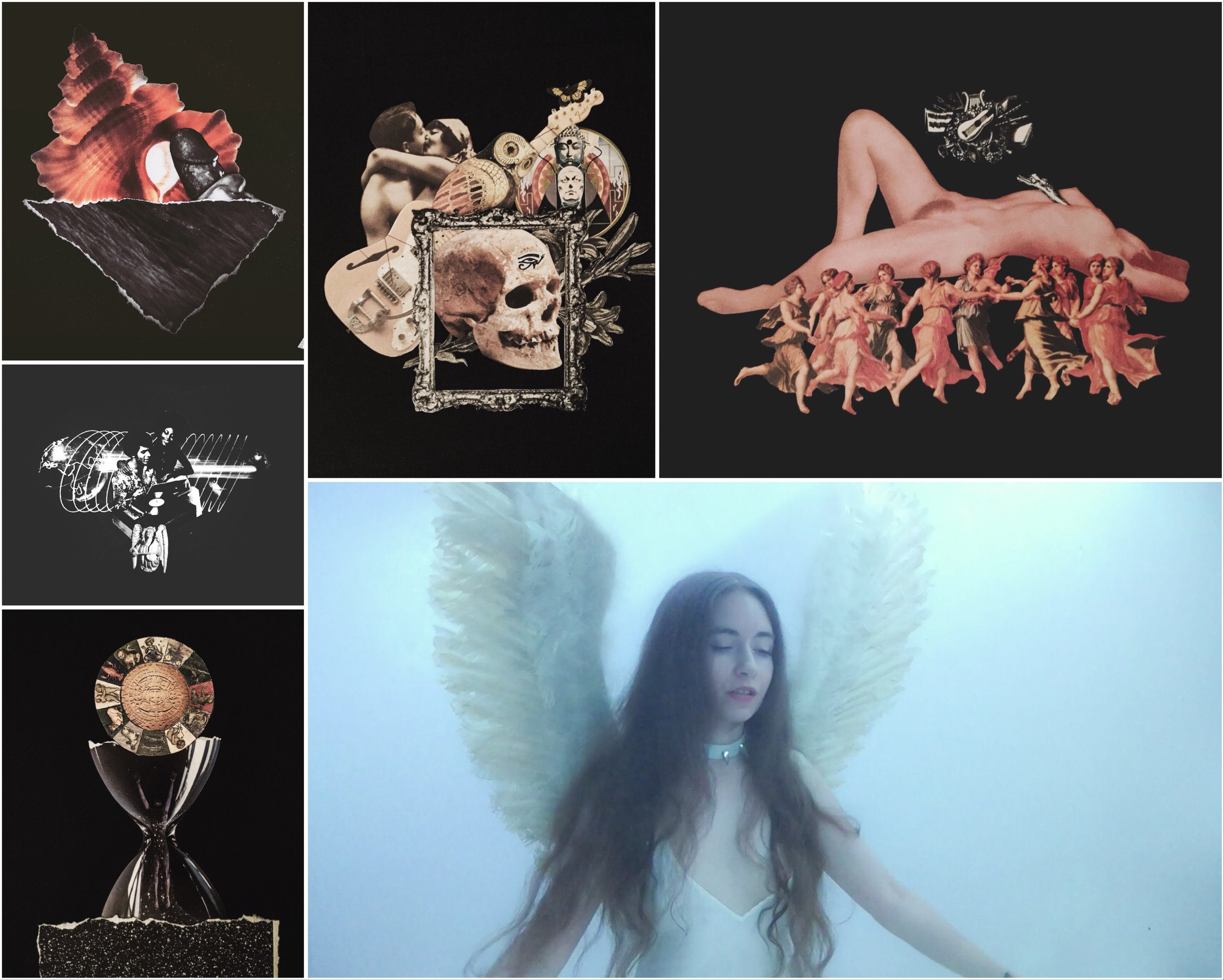 An overview of my creative works made in the past week.
