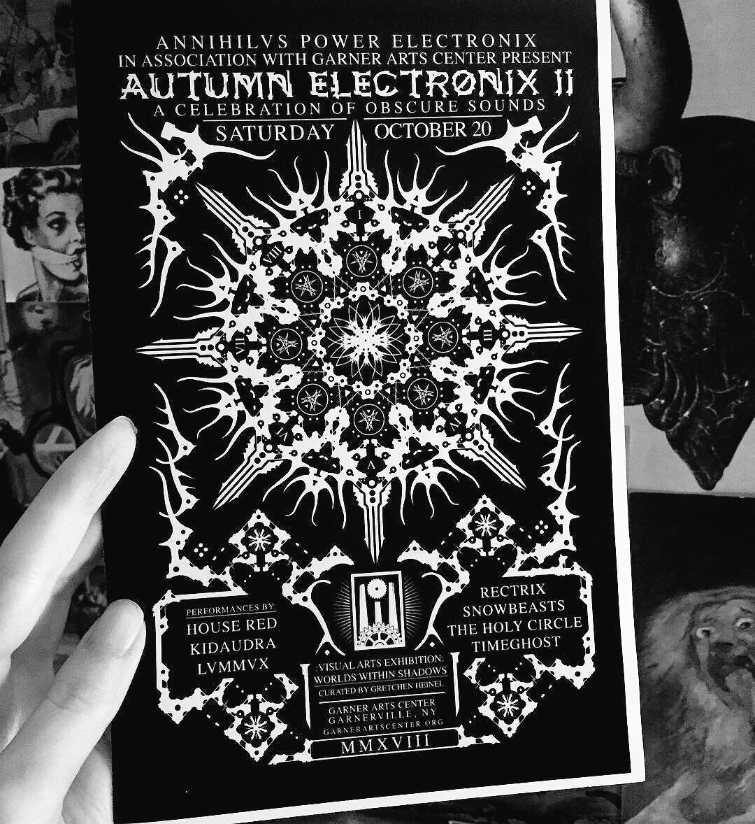 Autumn Electronix II at Garner Arts Center