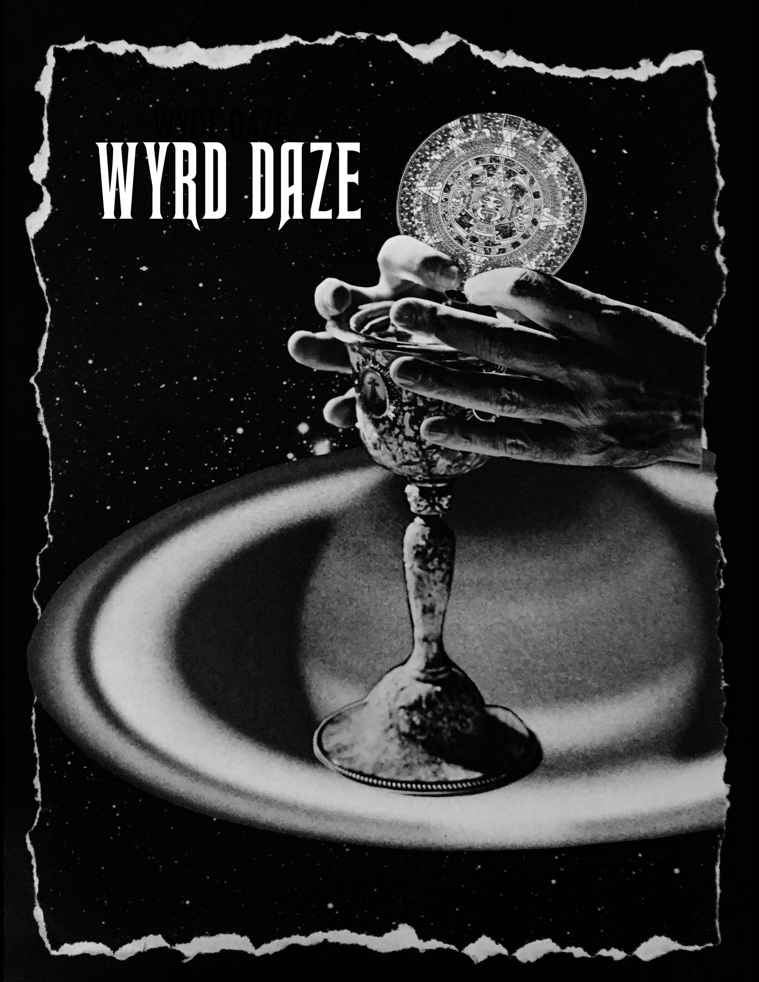 Cover of Wyrd Daze 4 by Joan Pope