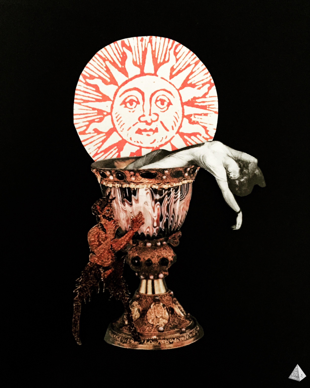 Les Fleurs du Mal: La Muse malade by Joan Pope (Temple ov Saturn)