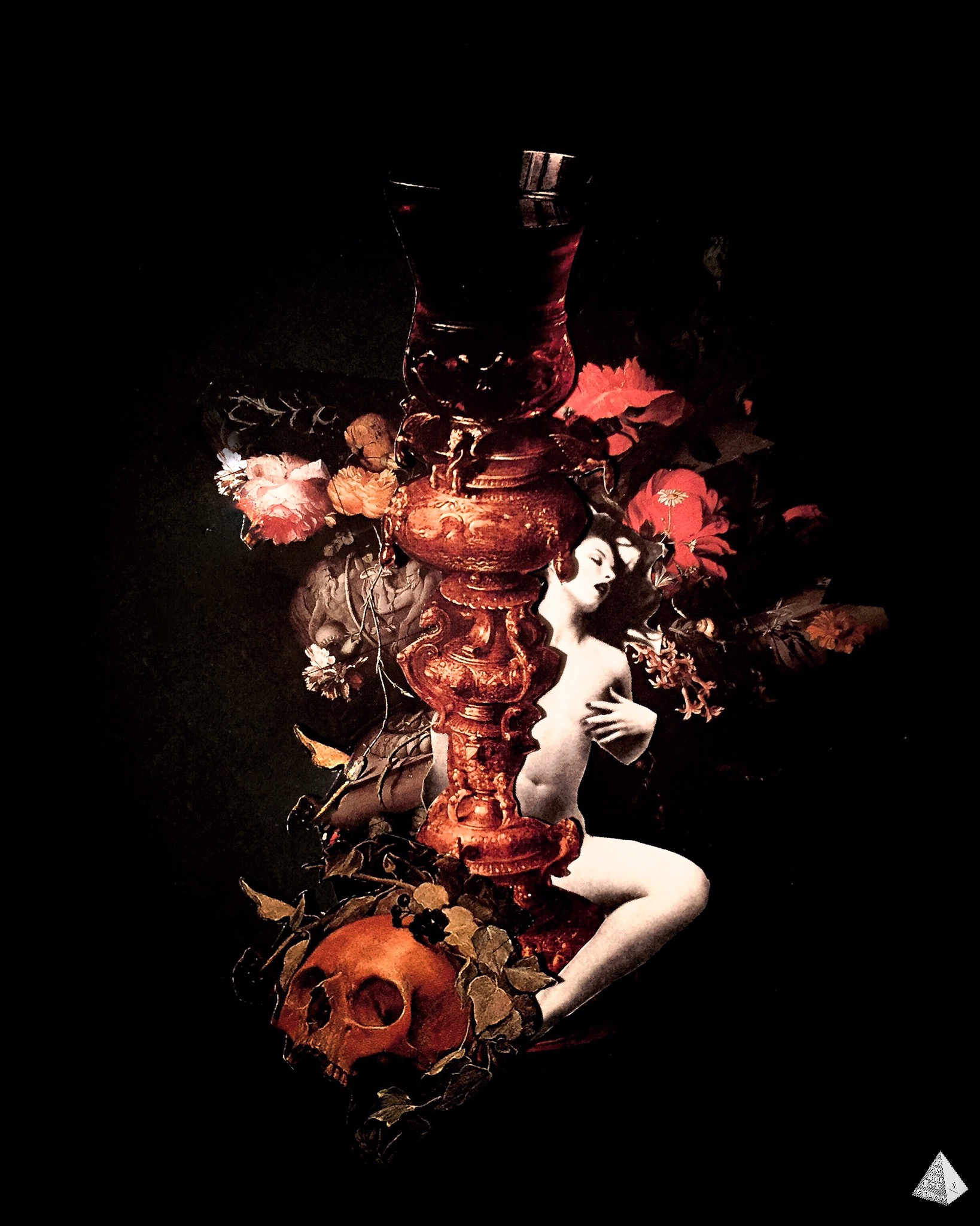 Les Fleurs du Mal: Le Poison by Joan Pope (Temple ov Saturn)