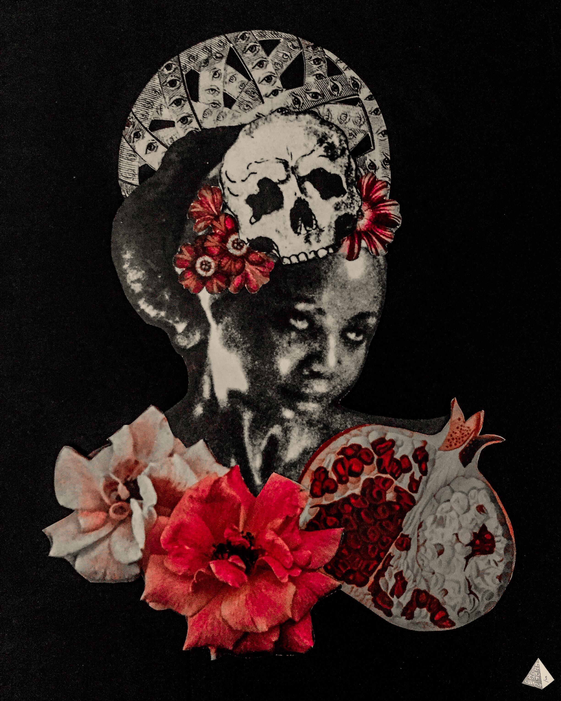 Les Fleurs du Mal: Sed non saitata by Joan Pope (Temple ov Saturn)