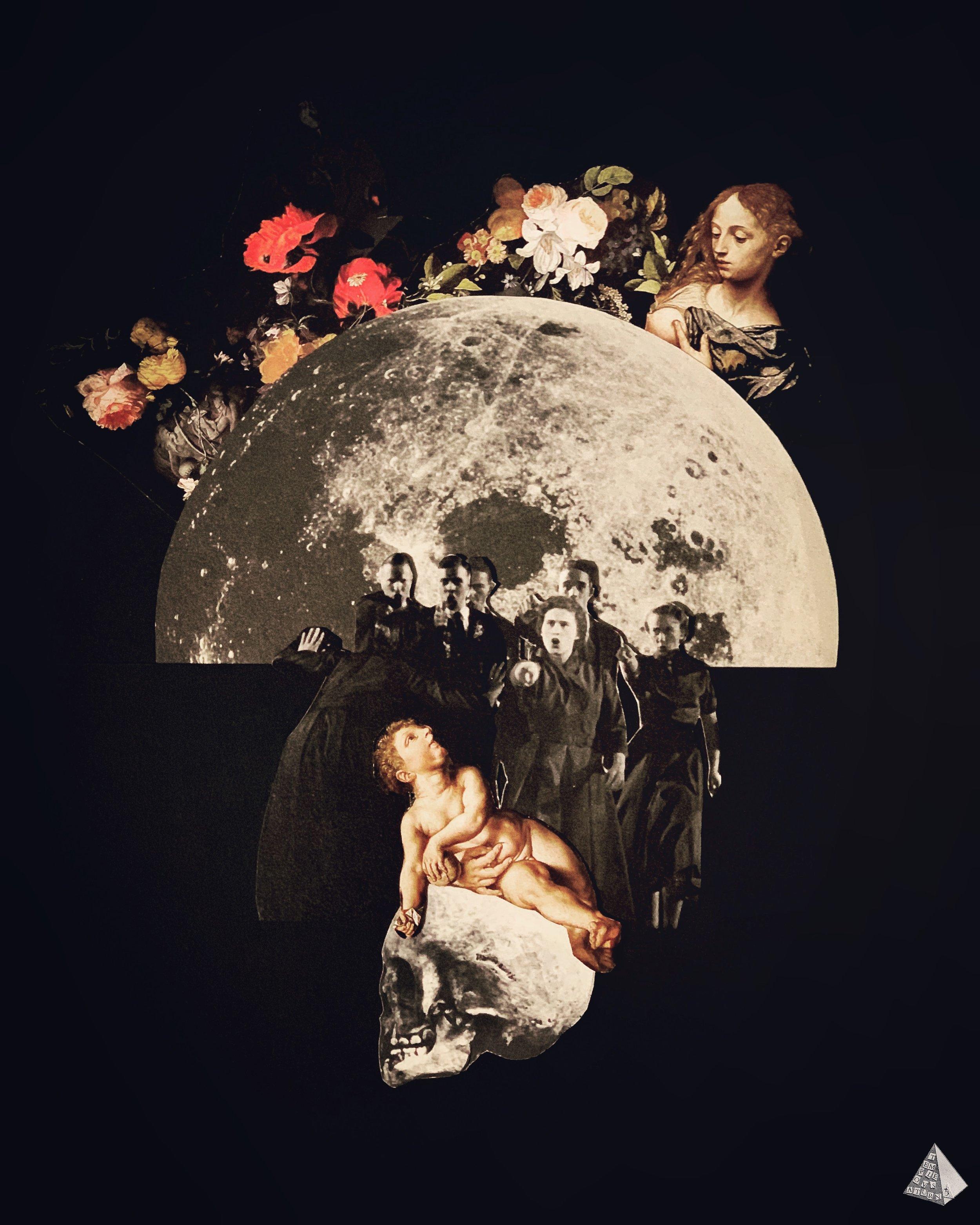 Les Fleurs du Mal: La Lune Offensée by Joan Pope (Temple ov Saturn)