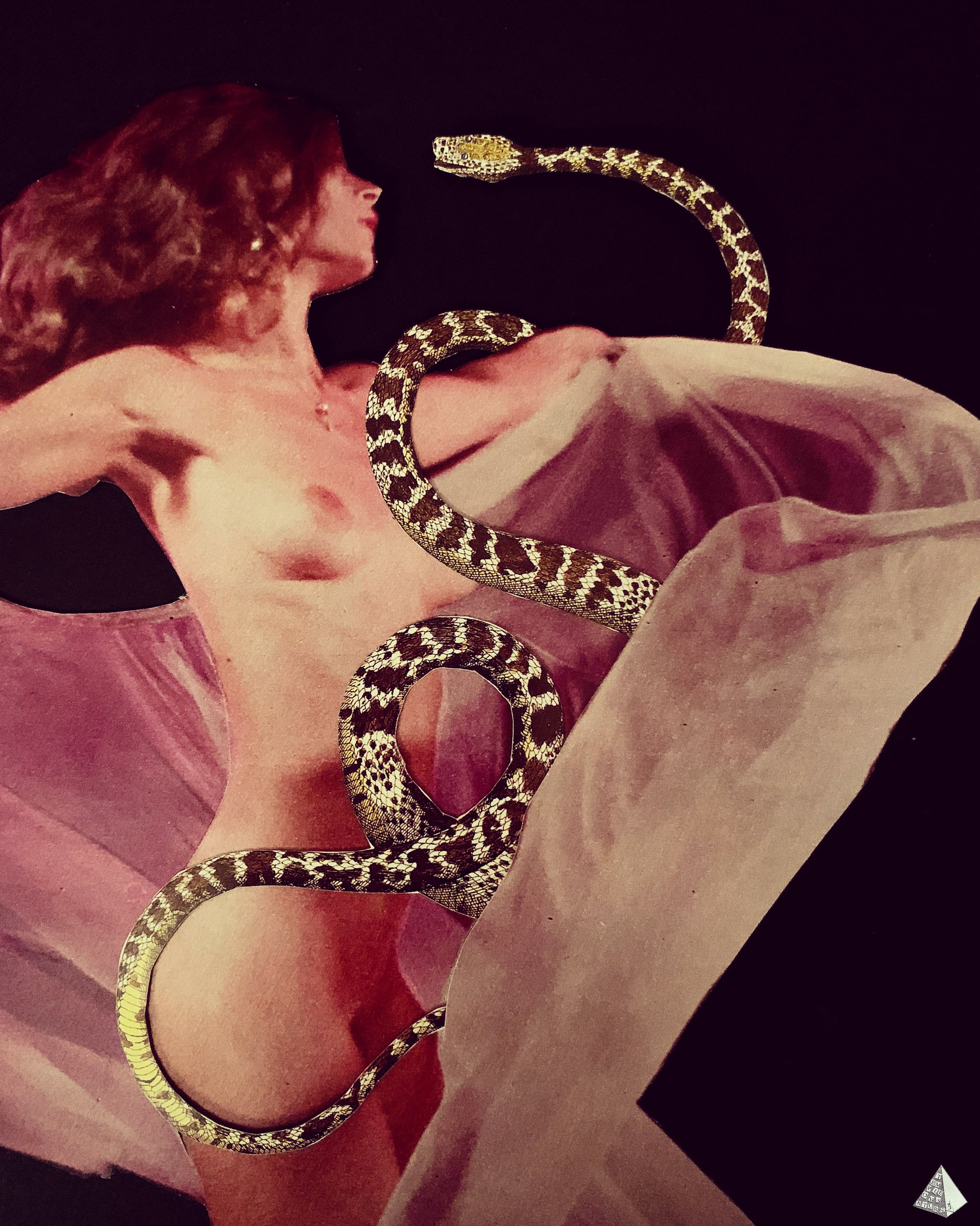 Les Fleurs du Mal: Le Serpent qui danse by Joan Pope (Temple ov Saturn)