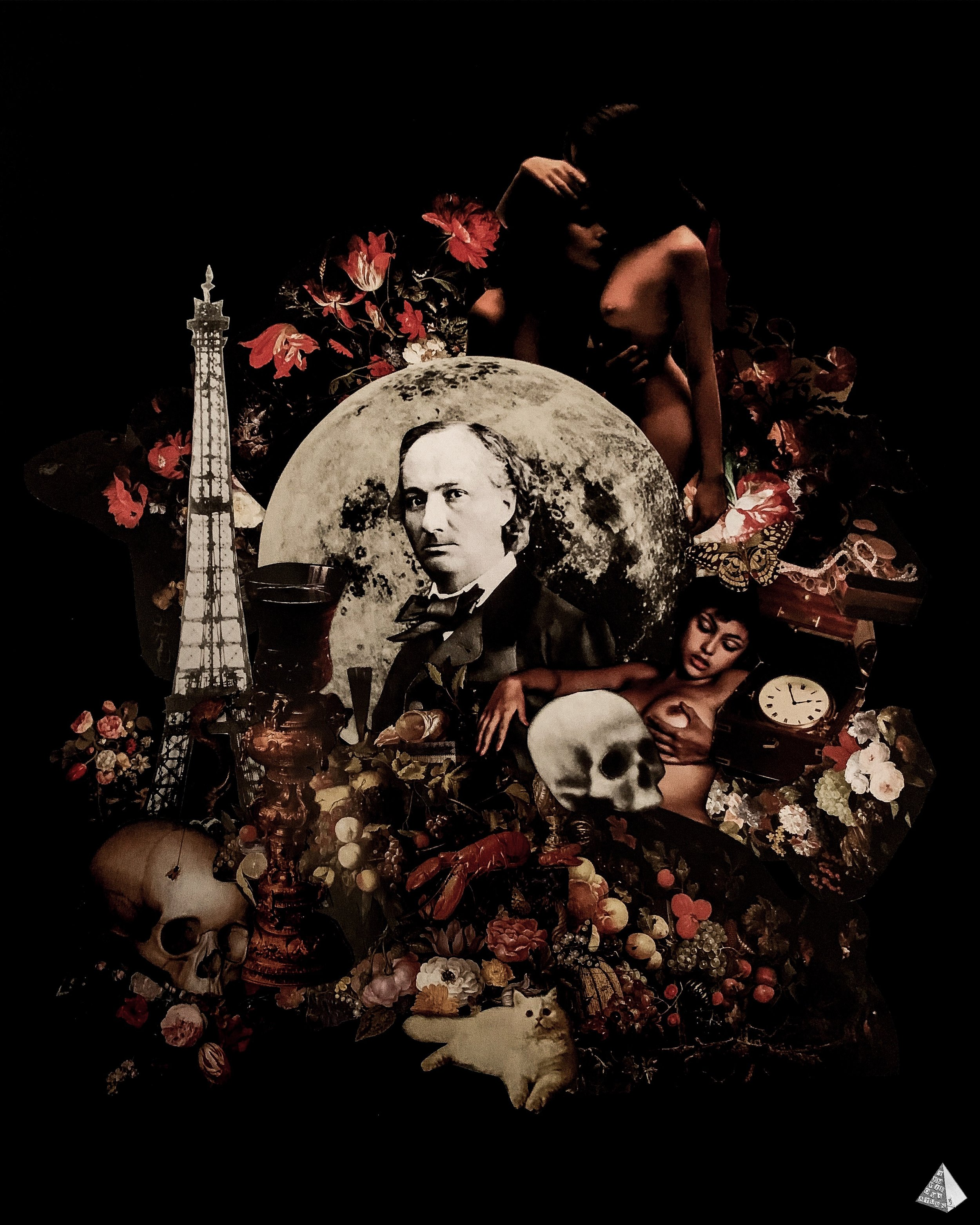 Baudelaire by Joan Pope (Temple ov Saturn)