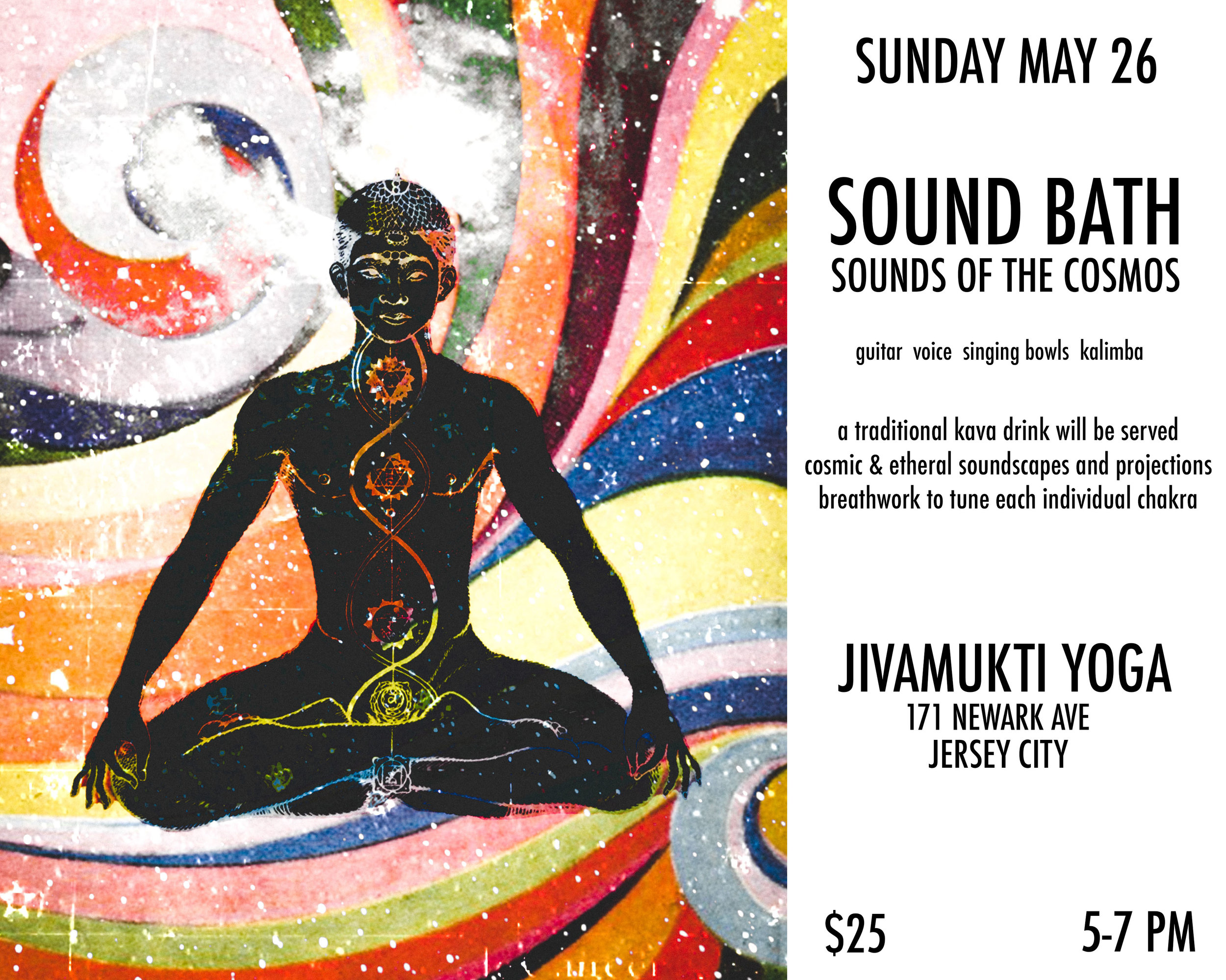 Sound Bath at Jivamukti Yoga in Jersey City