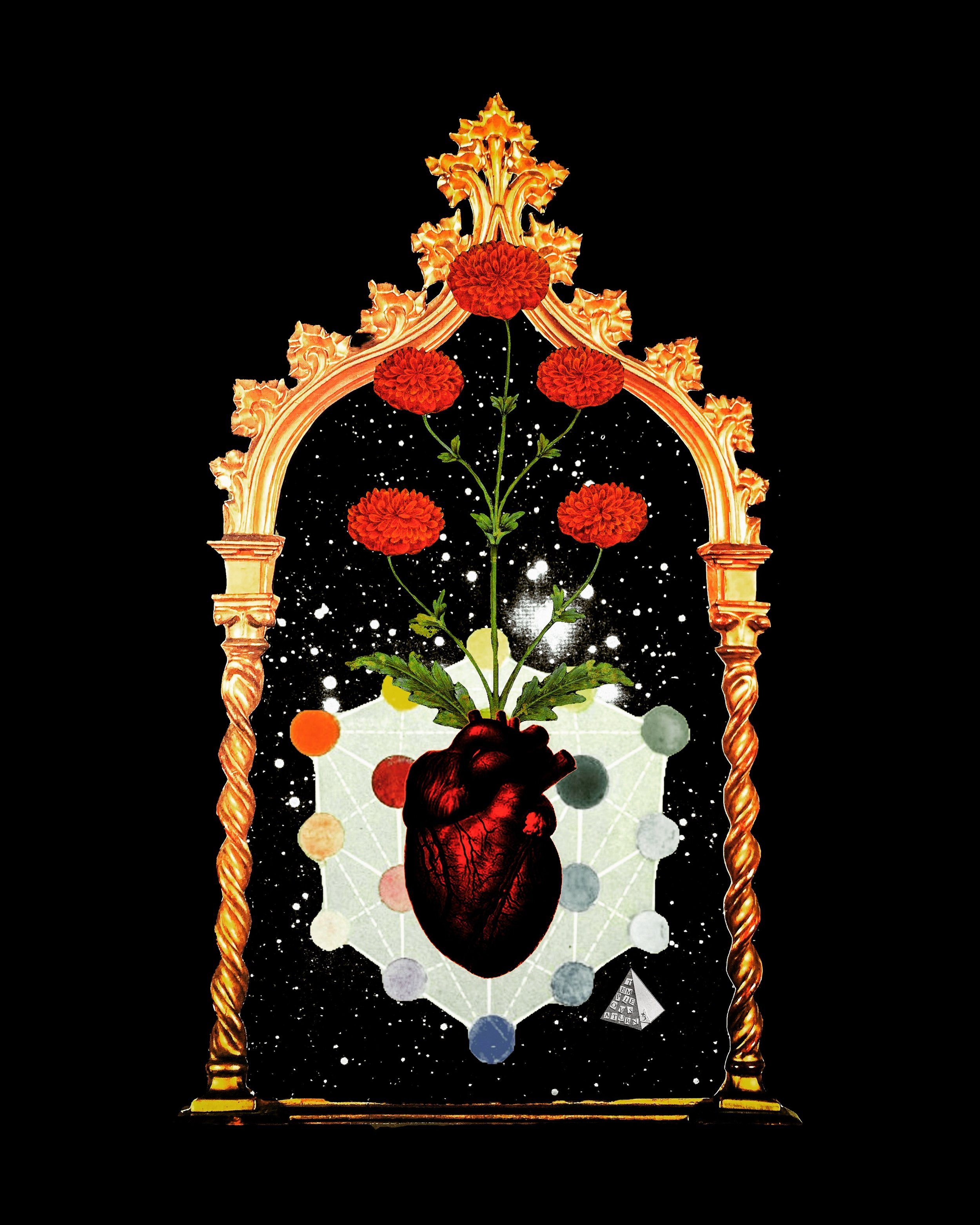Sacred Heart by Joan Pope (Temple ov Saturn)