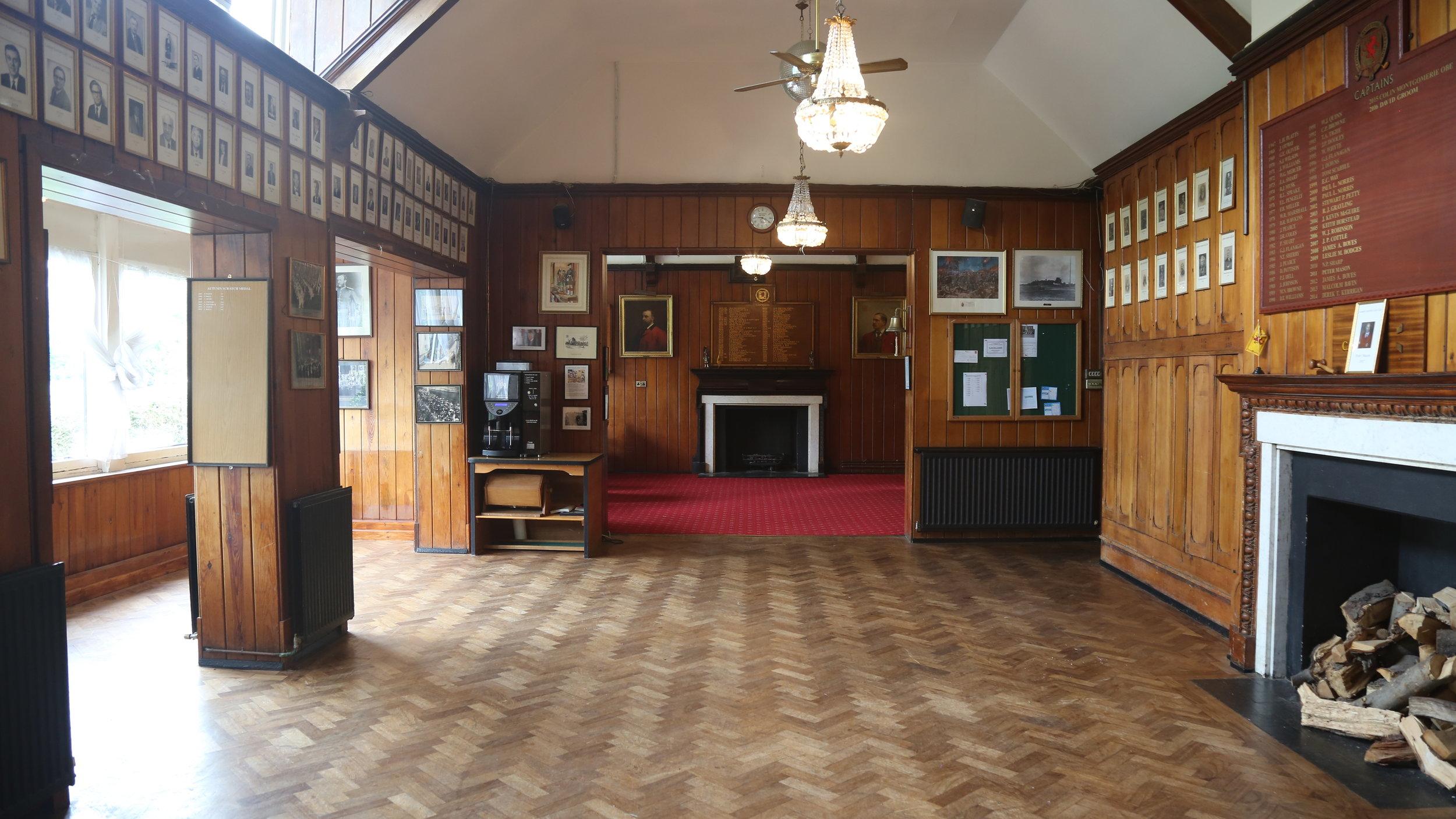 London Scottish Golf Club - Wimbledon Common Golf - Main Hall