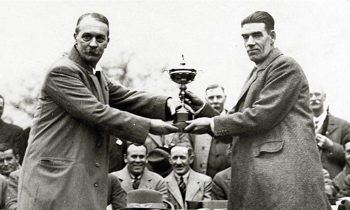 George Duncan - Ryder Cup Captan - Past Member London Scotttish Golf CLub - Wimbledon Common Golf