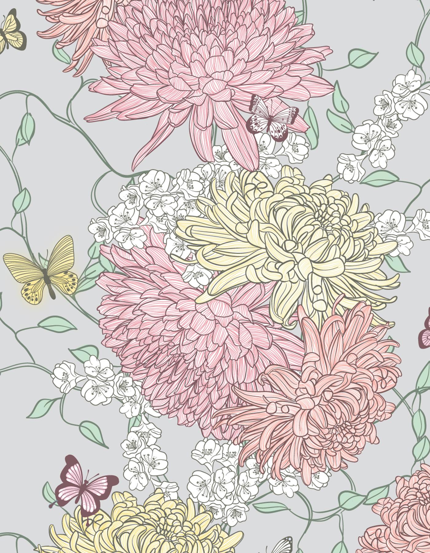 Monet's Garden Print (Bridesmaid)