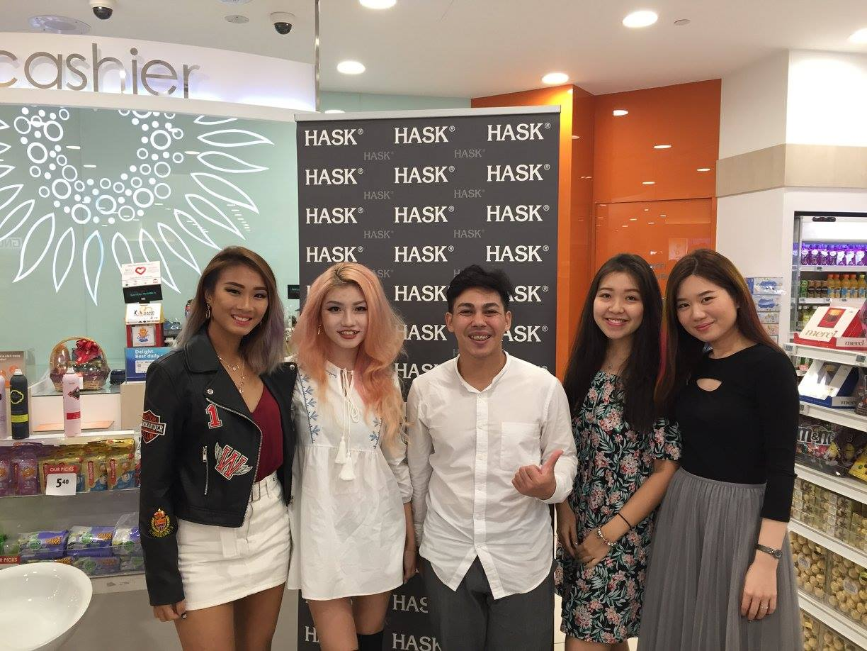 KOLs attending in-store workshops at Guardian SG