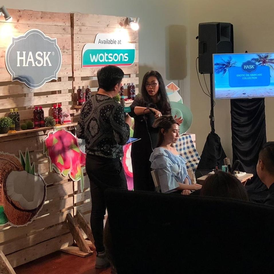 Hask Malaysia Watson Launch