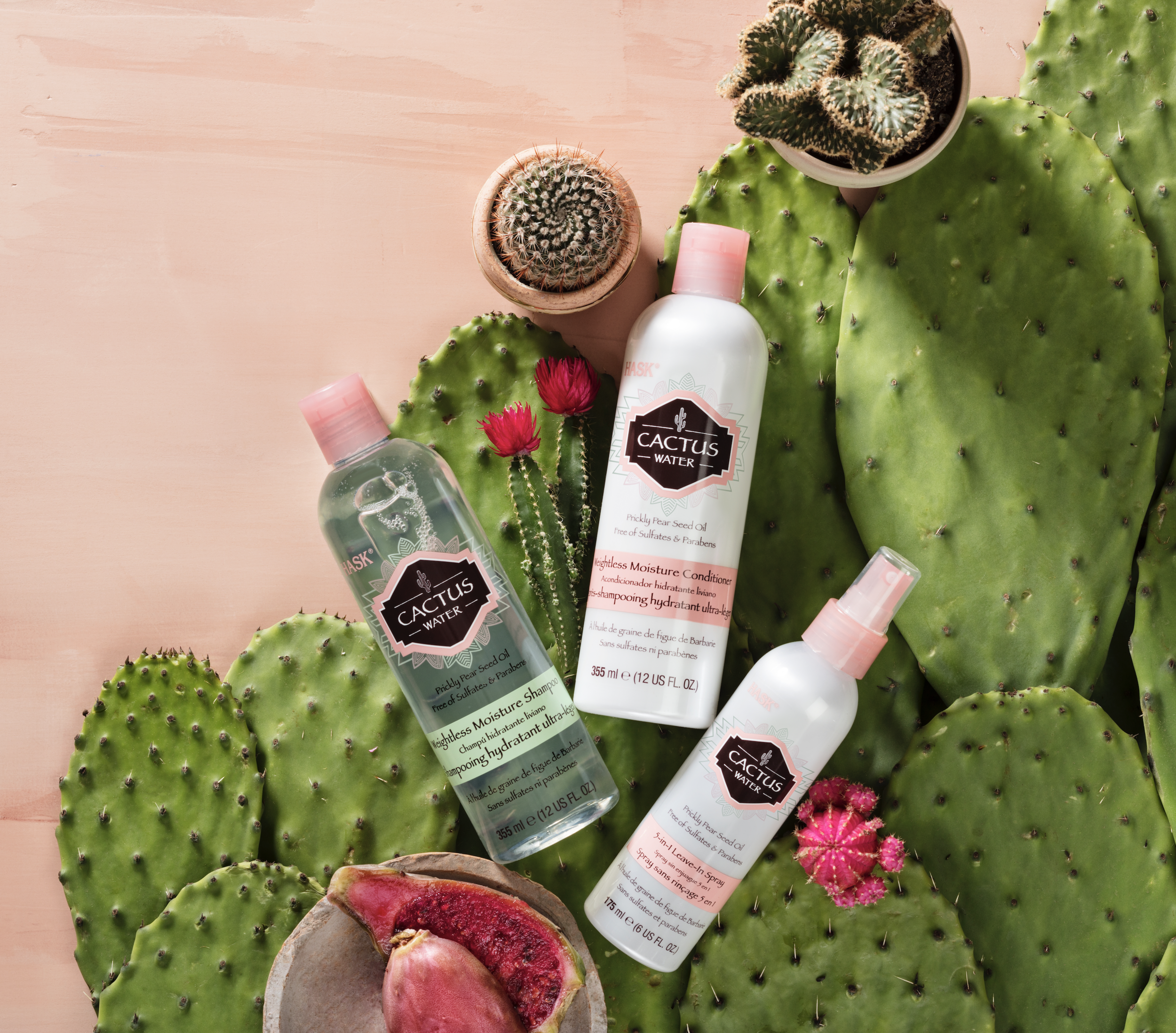 HASK Cactus water and Coconut Water collection