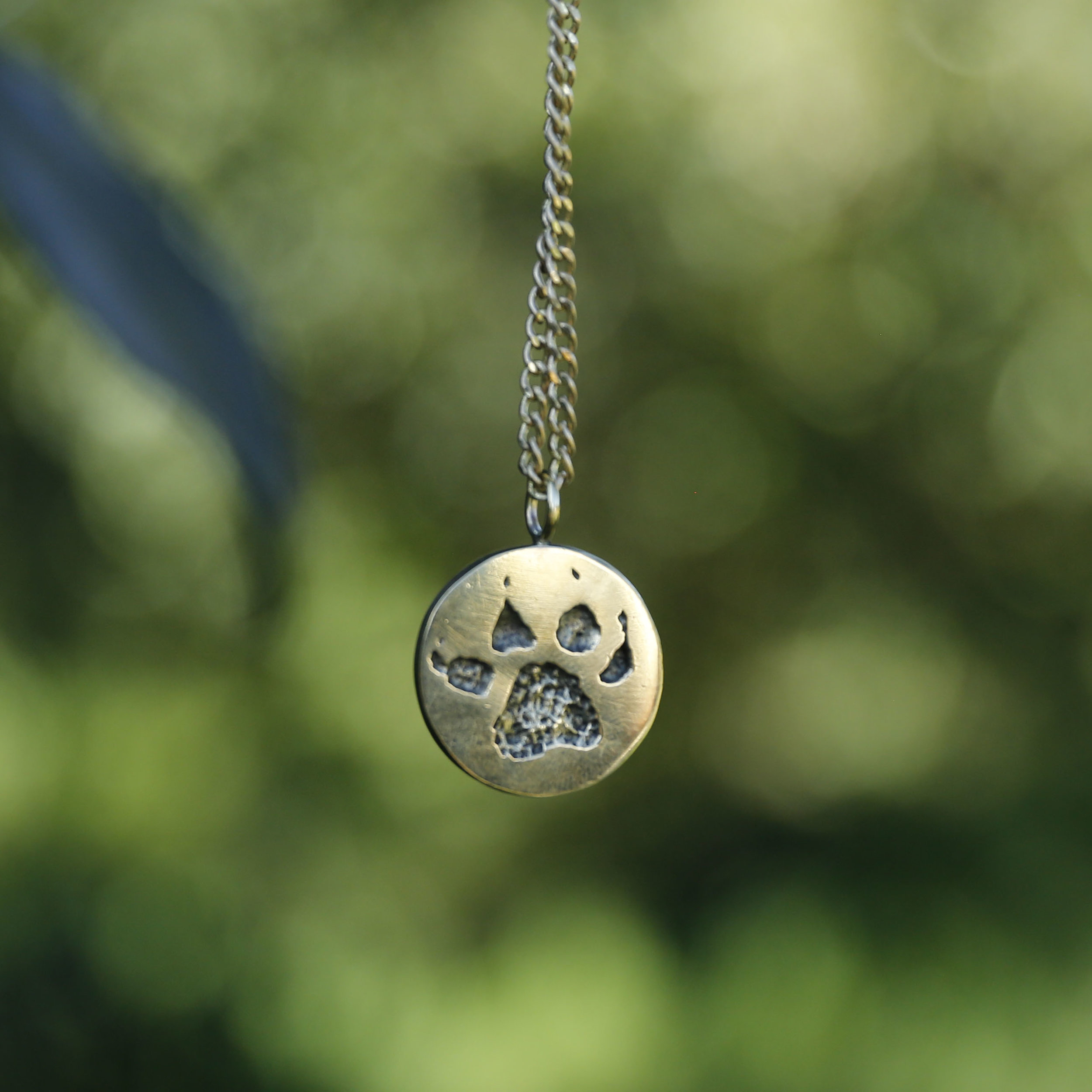 The hyena track necklace,  available here .