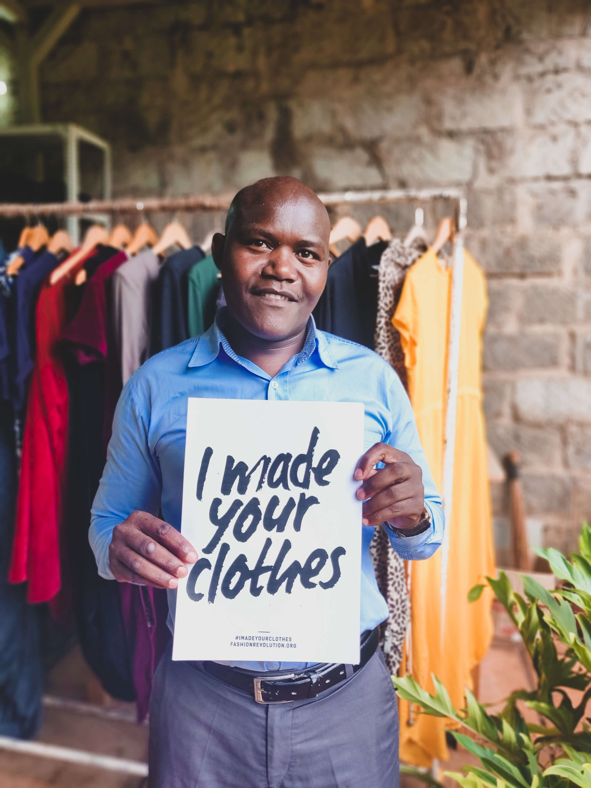 "This is Ben, our Master Tailor. He is responsible for turning design sketches and measurements into actual garments. When he first joined, he was ""used to doing just a few designs, but now I know so much more which is exciting. I feel supported at Lilabare, and I know I am well taken care of here"".  To us, knowing that our team is cared for and feel appreciated is necessary in order for us to celebrate our work every day. If you have any questions about our team, please ask us!  You can also check out the  Sustainability Stats  on each of our collections, which calculate the direct impact the clothes make on the environment."