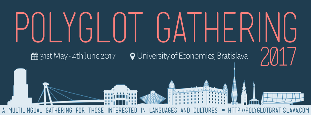 Image: Polyglot Gathering 2017   EVENT CALENDAR