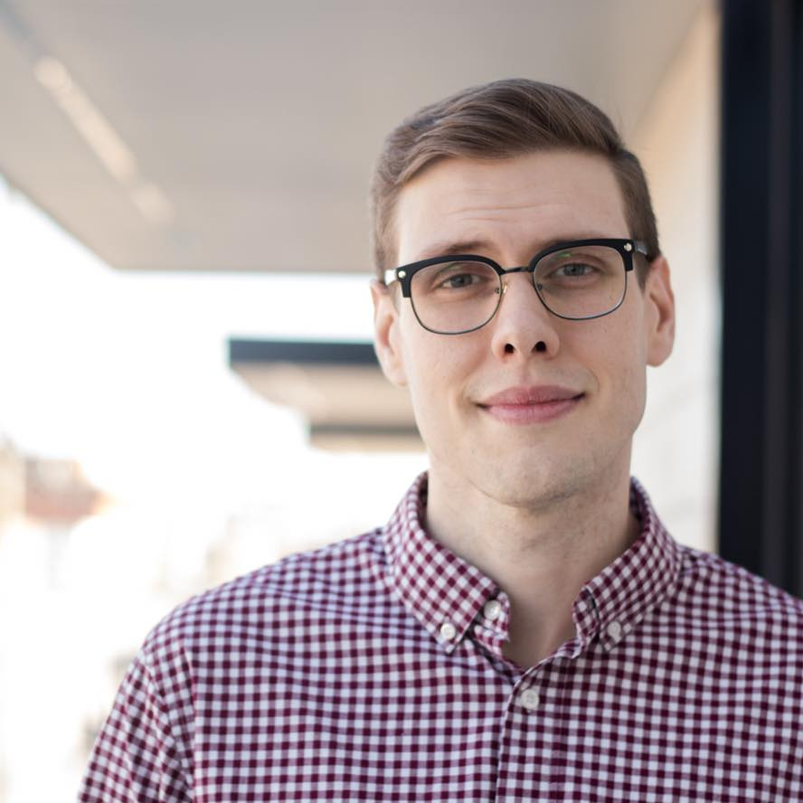 Sam Van Fossen -  Cwrig    A graduate of Liberty University, Sam now resides in Richmond, VA where he is pursuing his love of film writing, producing and acting with his company Strangers with Cameras LLC.