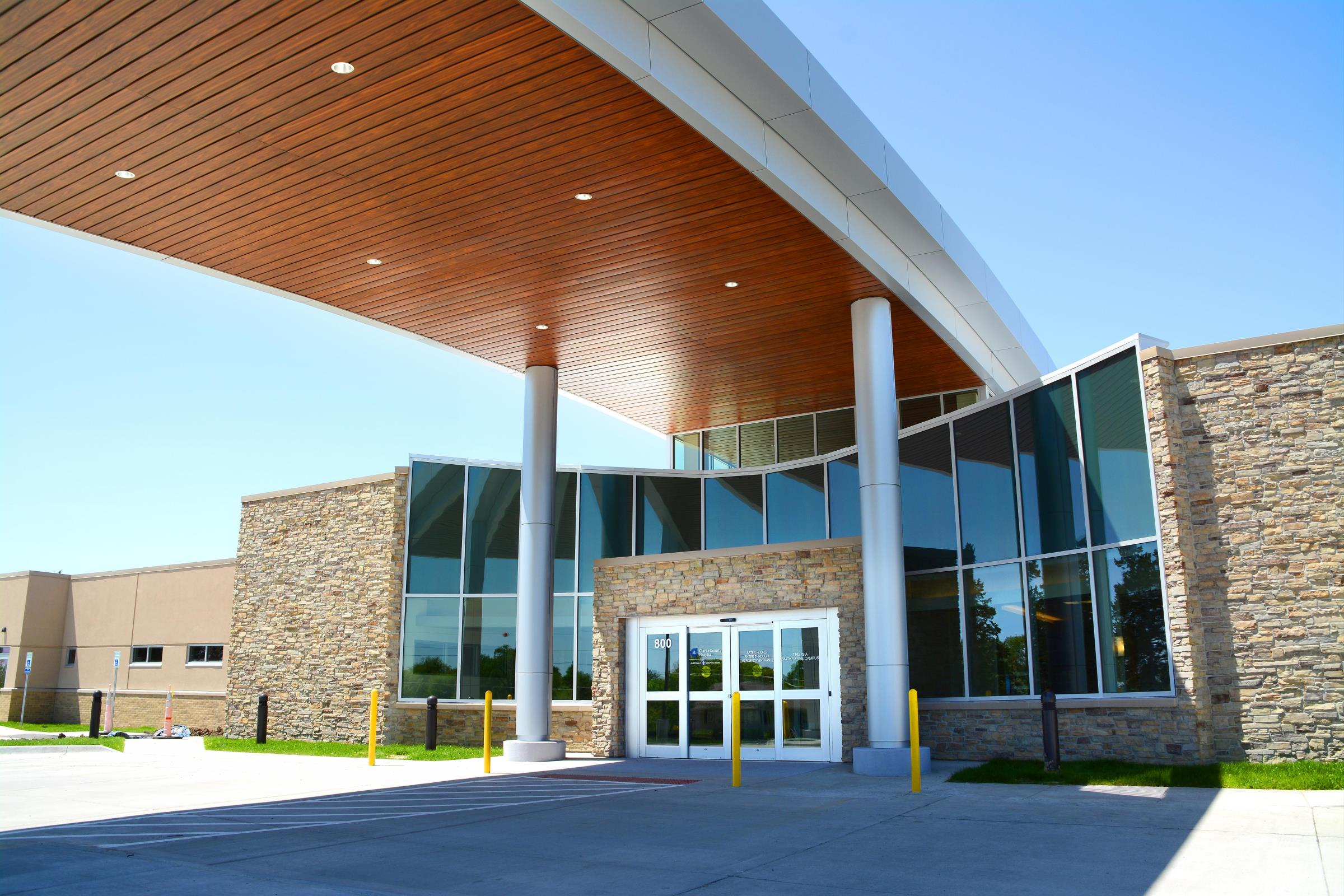 Clarke County Hospital Osceola, Iowa 63,000 sf Hospital Expansion & Renovation
