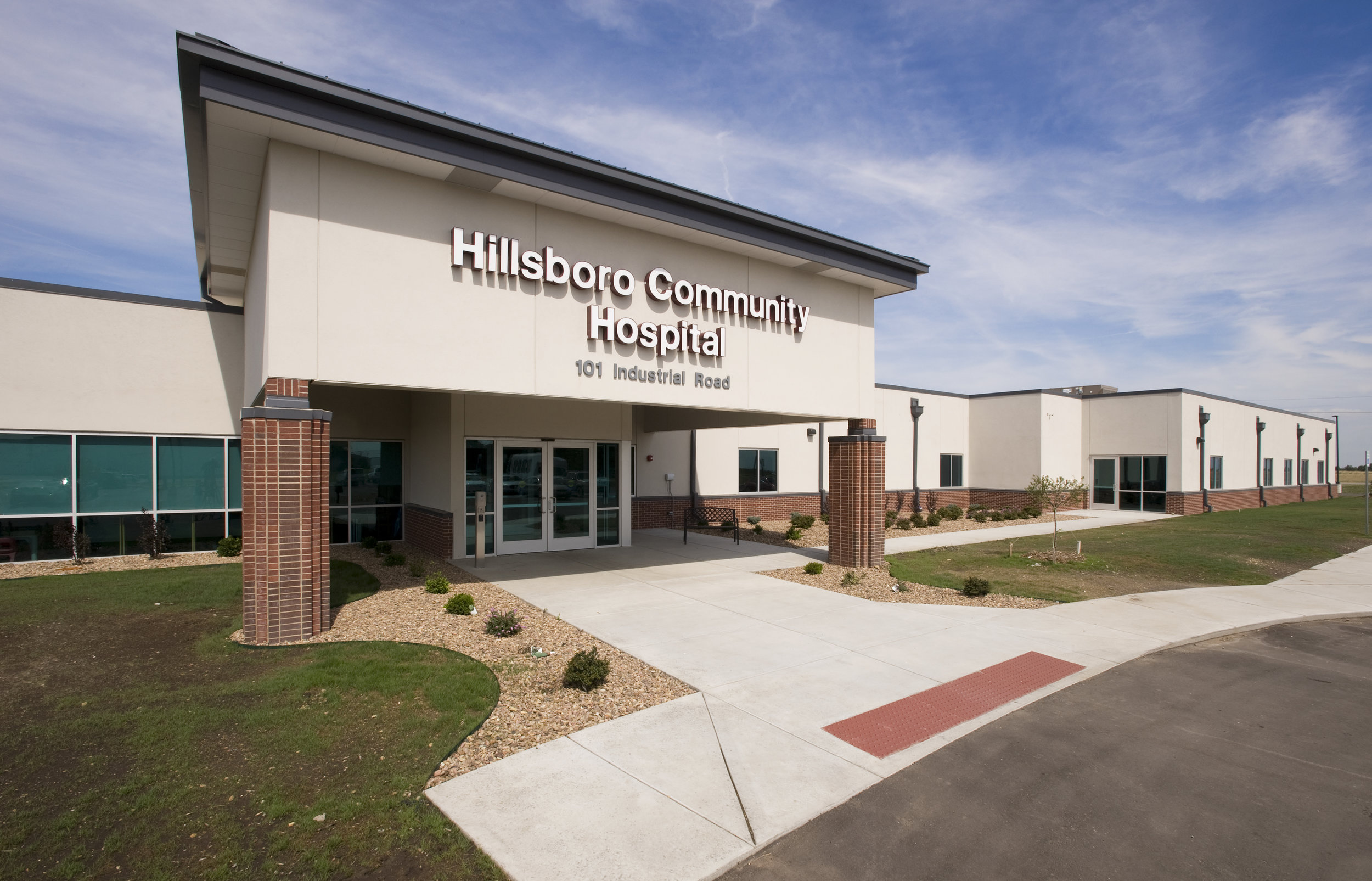 Hillsboro Community Hospital Hillsboro, Kan. 27,700 sf New Critical Access Hospital & Clinic