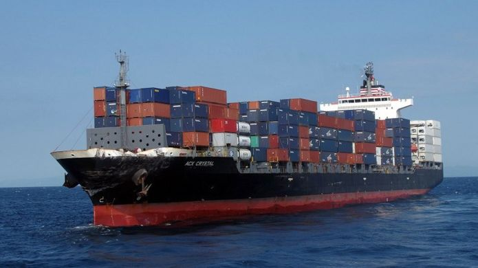 Container ship ACX Crystal