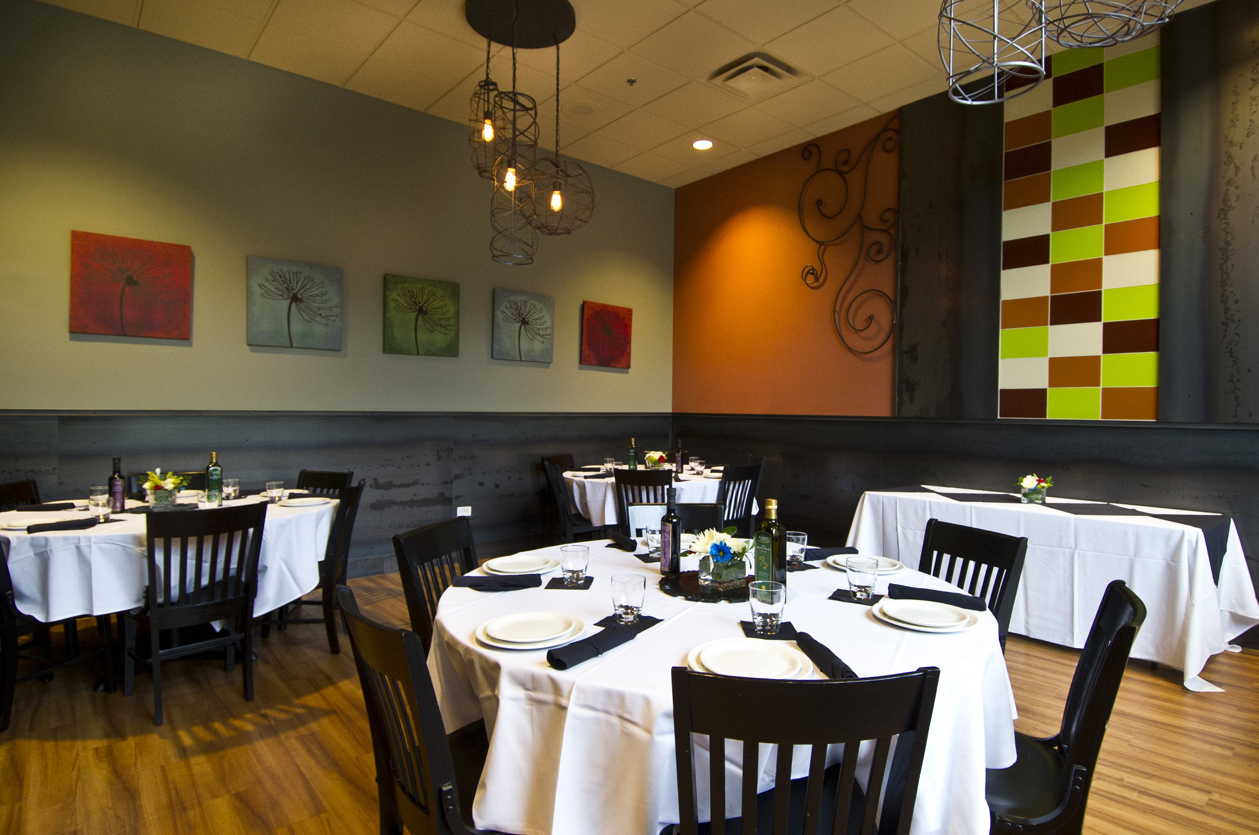 The Private Dining Room at our Inverness location.