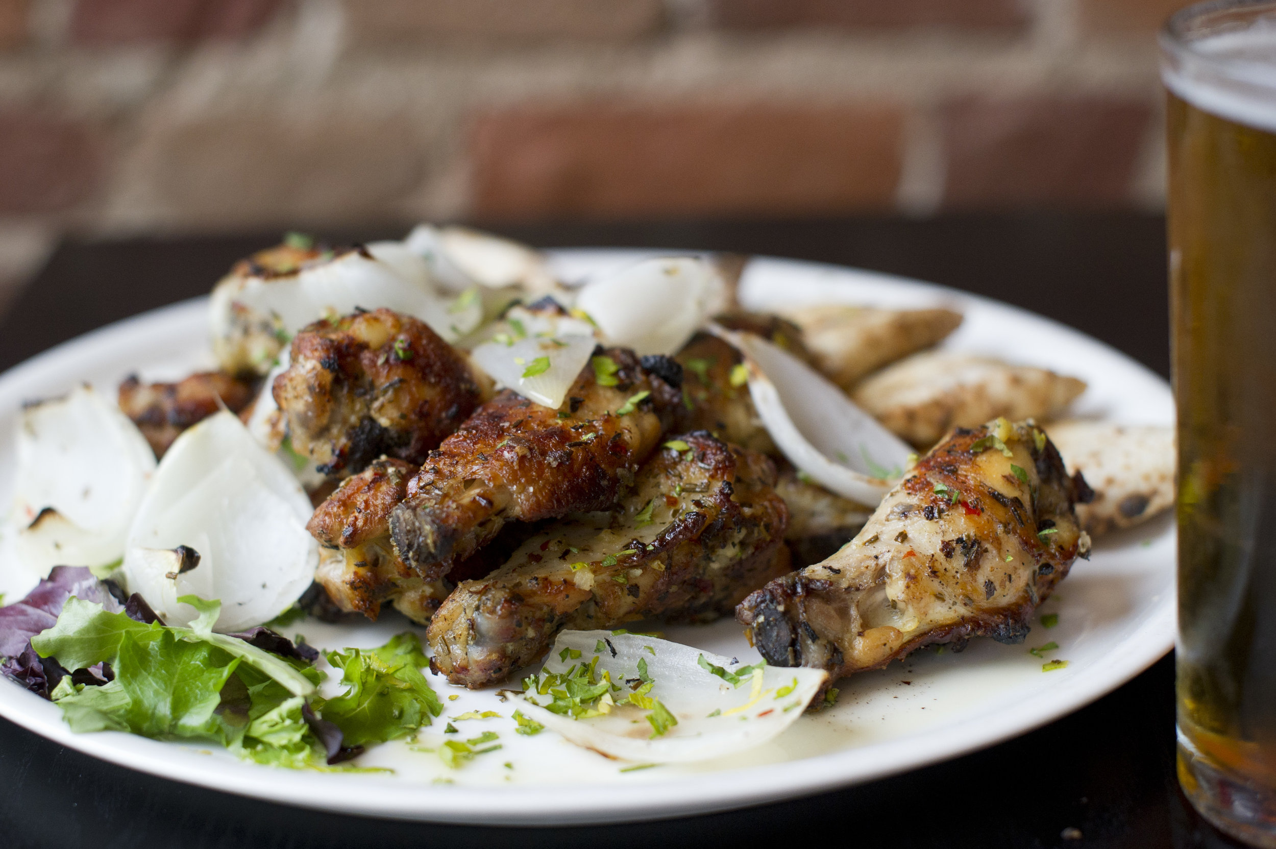 Coal - Fired Chicken Wings