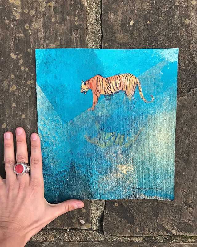 SOLD No.233.234 . #sketchforwildlife . £100/100%donation to the voiceless . @dswfwildlife . #india #africa #planetearth #painter #love