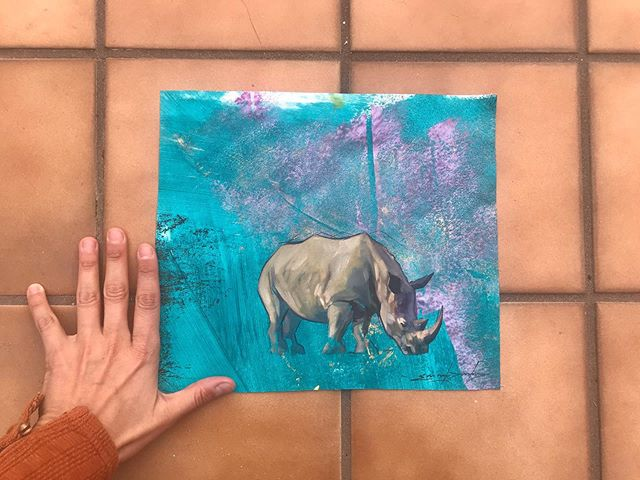 SOLD No.239 . #sketchforwildlife . £100/100%donation to animals . @savetherhinonamibia @dswfwildlife . Inspired by @jemu_mwenda and his work and love for the gentle grey giants x 🙏 #AFRICA #rhino #protect #love #conservation