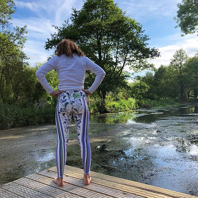 The lovely Wilderness leggings are on the website and flying away.  I'm so delighted, the first delivery is already nearly gone, which makes me very happy.  I love the idea of them off enjoying themselves at festivals and summer yoga in the sun.  If you'd like some too, do just click through on the website link in the bio xxx #festivalwear #summerfun #partyinthesunshine . . . . #yogaforlife #healthyliving #dailyom #dailypractice #livingwell #summerfestivals #floralleggings #activewear #yogaoutdoors #botanicalprints