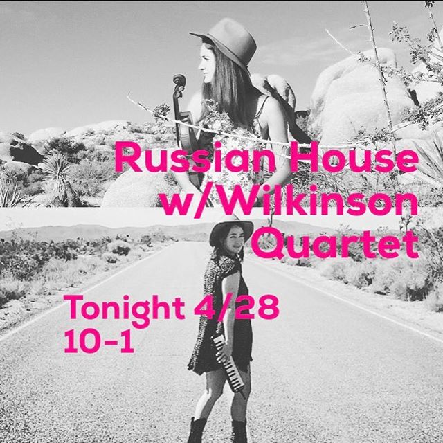Last minute gig with @wilkinsonsquartet  Good food, the best vodka and #texasswing  #atx #do512 #livemusic #livemusicatx