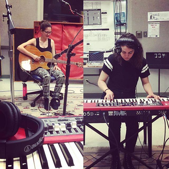 Studio Time 🎧 #nordelectro #atx #musicianlife #musicsunday #mychurch #recording