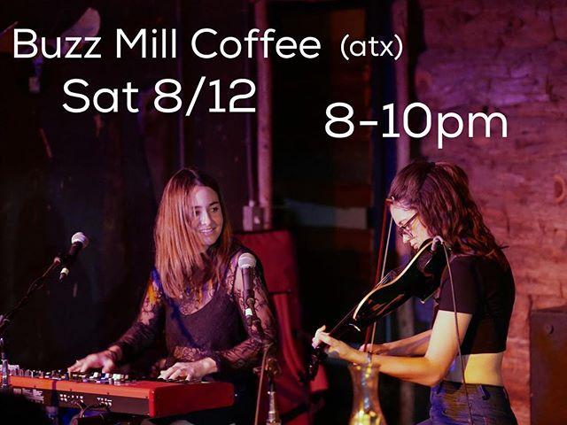 Tomorrow night! ☕️🍻🍸 @buzzmillcoffee
