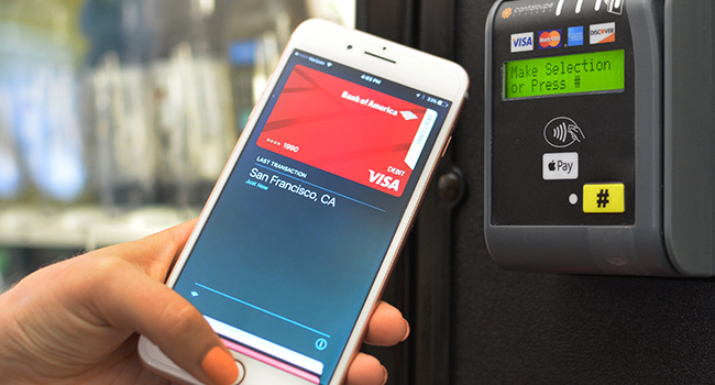 Contactless Payment Option shown here