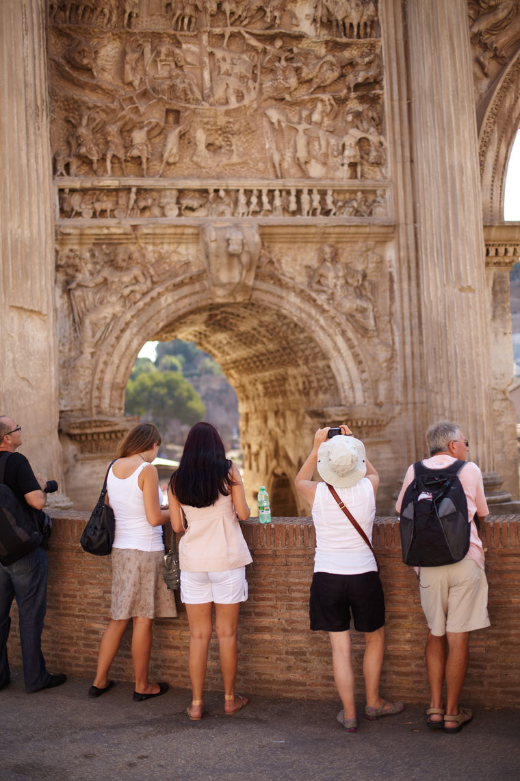 Travel Rome Italy Forum Tourists