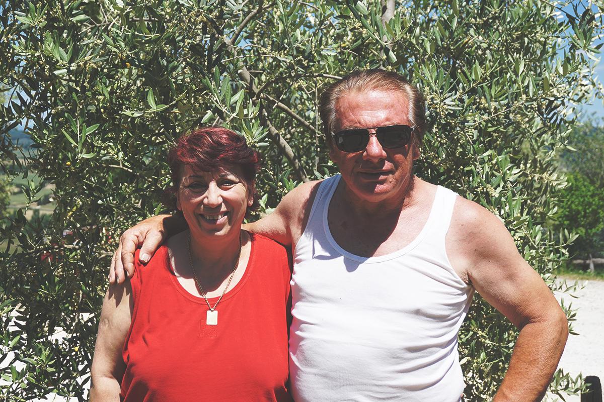 Angela e Roberto, Agricampeggio Cipollatico