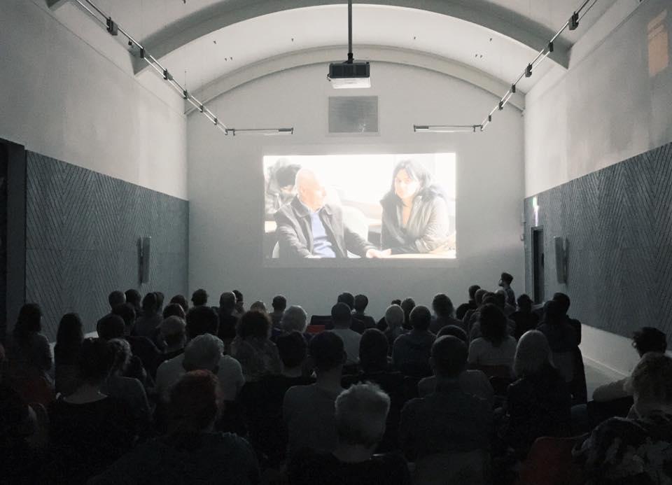 Audience watching Ken Loach Double Bill