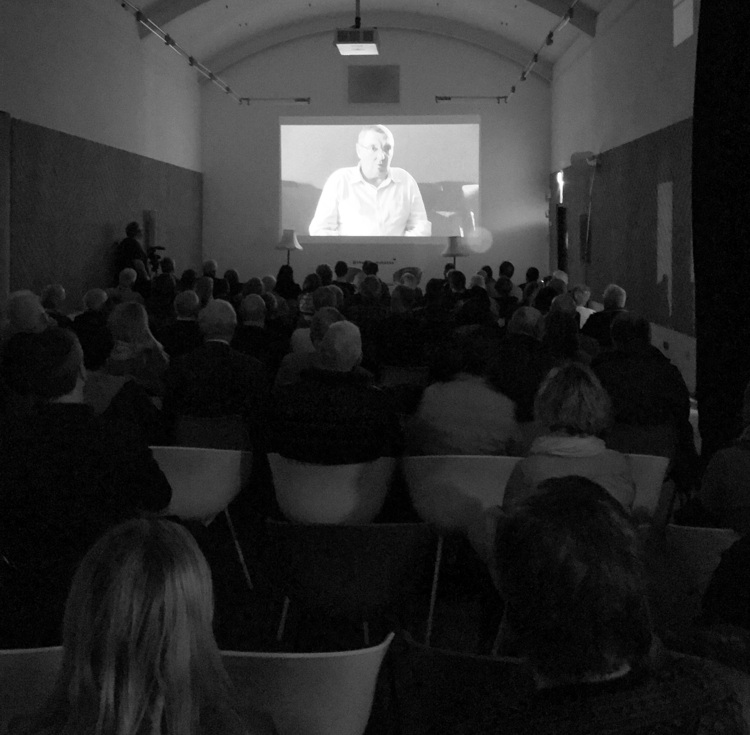 Audience at Boat Builders - Stories from the archive