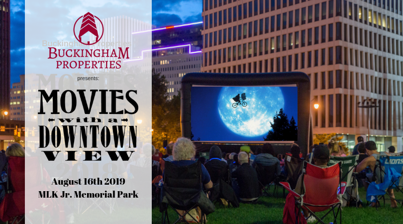 E.T. the Extra-Terrestrial - August 16th in MLK Jr. Memorial Park, Downtown RochesterEvent start: 7pm     |     Movie Start: 8:15pm