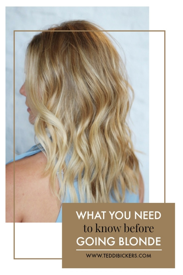 What You Need to Know Before Going Blonde | Teddi Bickers | Indianapolis Hairstylist