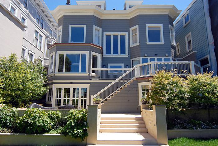 Clay Street, San Francisco (rear)