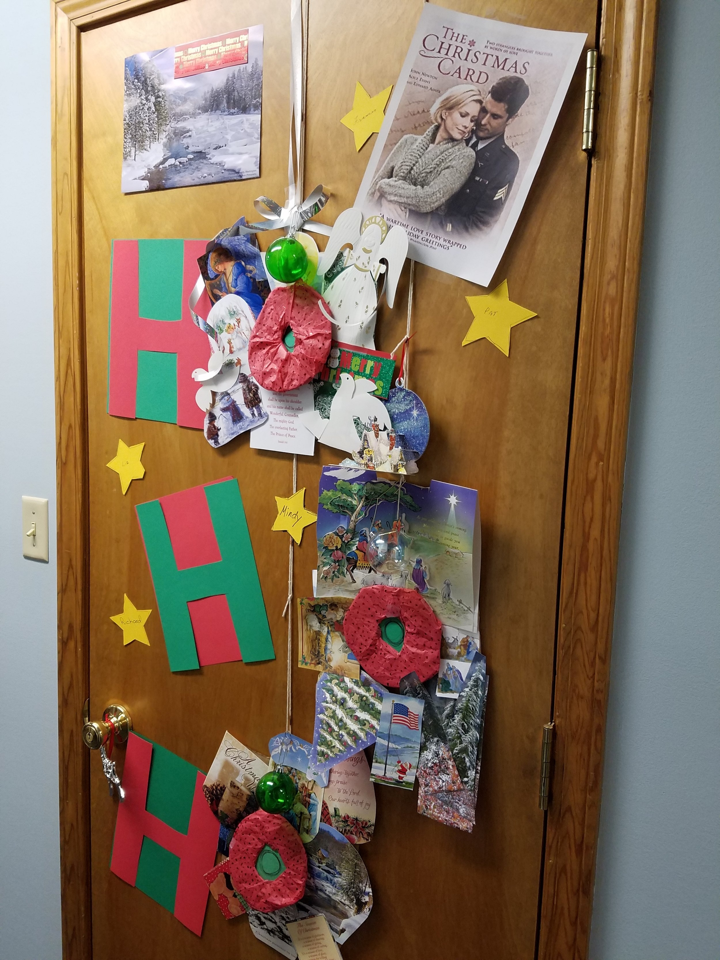 3rd Place Winner, PMH Door Decorating Contest