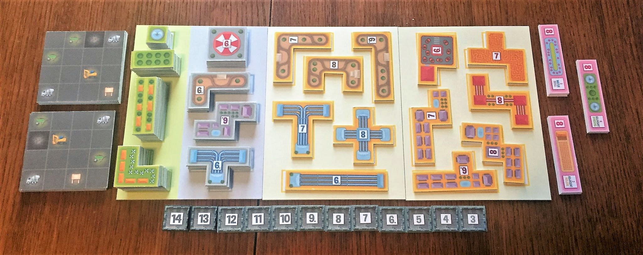 Prototype of Bärenpark board game (known at that time as Wonderland)