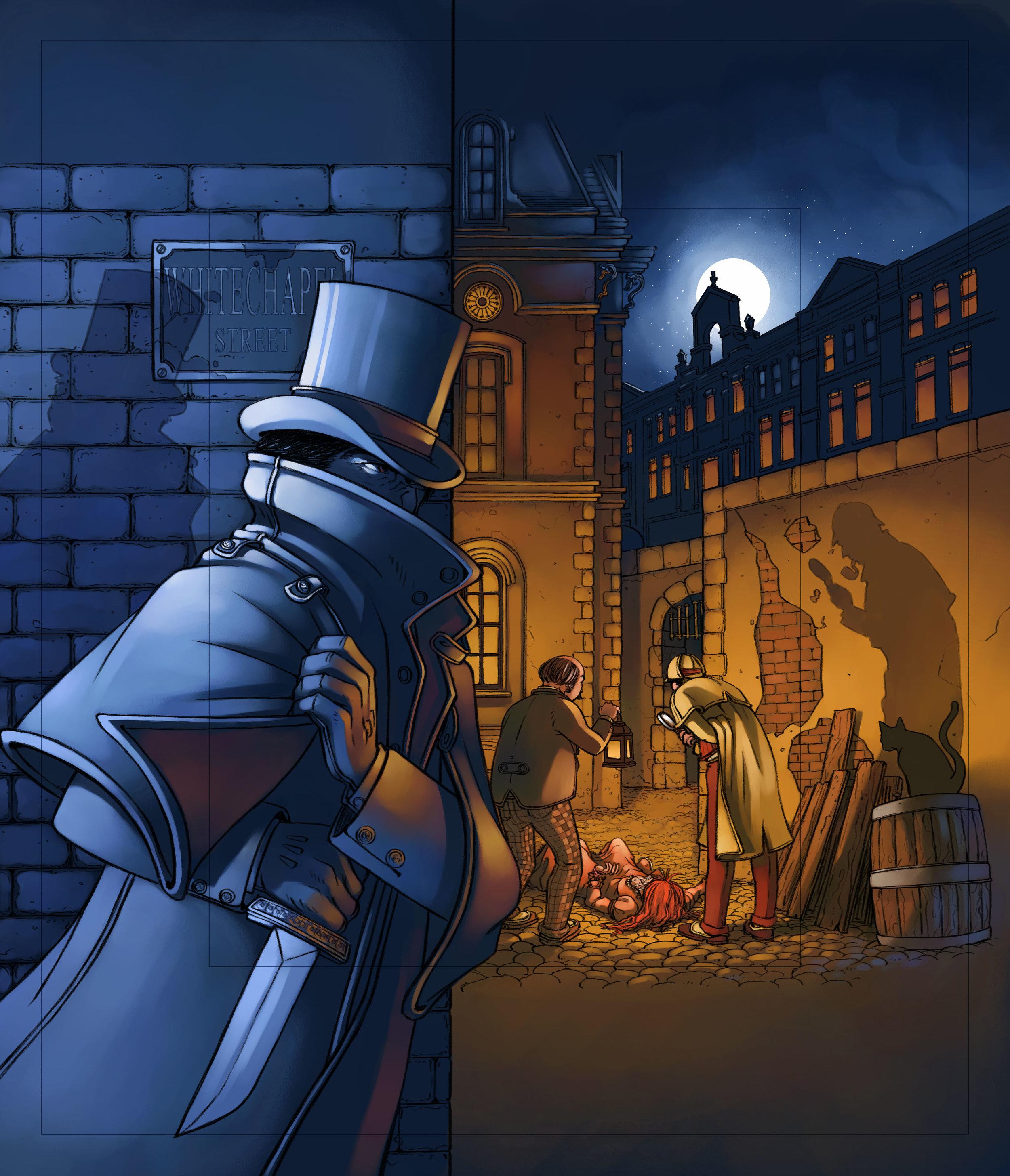 Mr Jack illustration colored