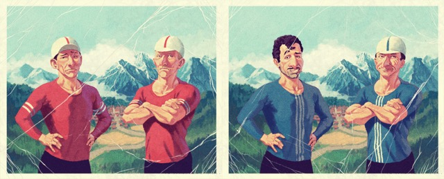 Flamme Rouge character art