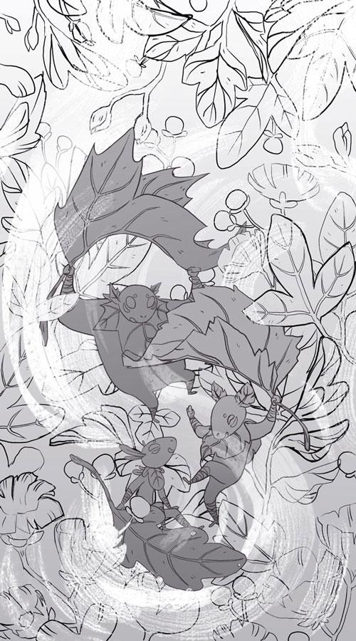 KIWETIN Cover Sketch art