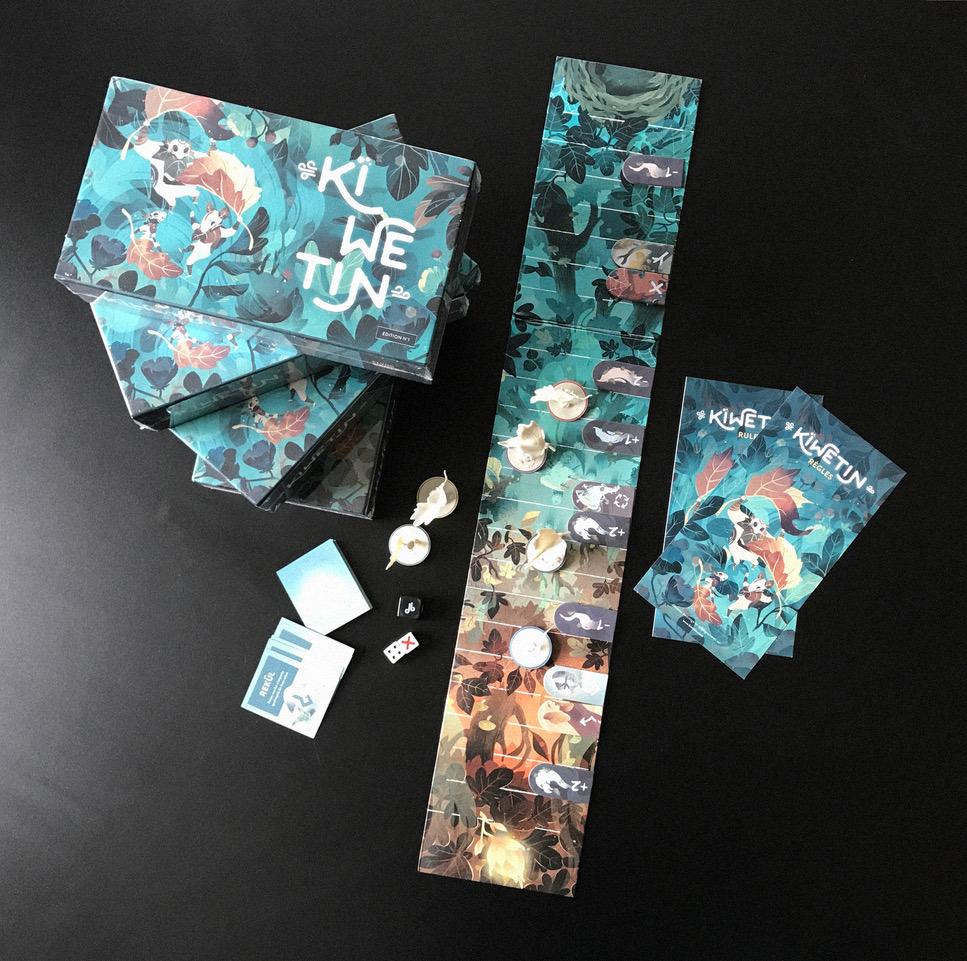 KIWETIN - Game components