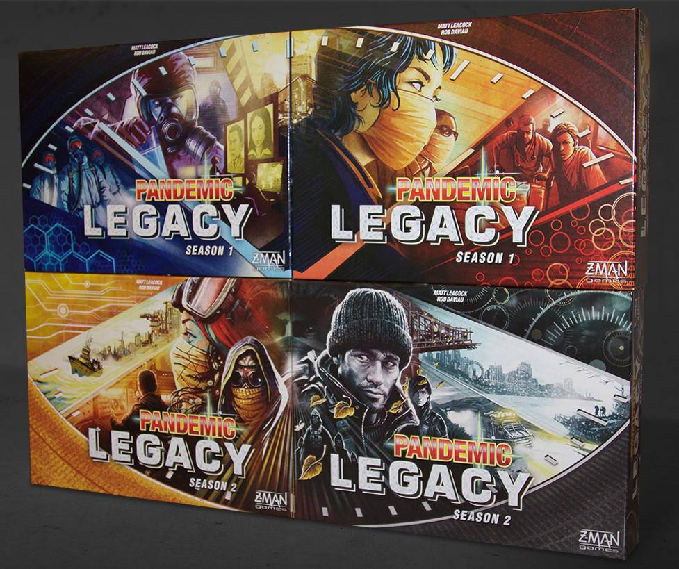 Pandemic Legacy box images