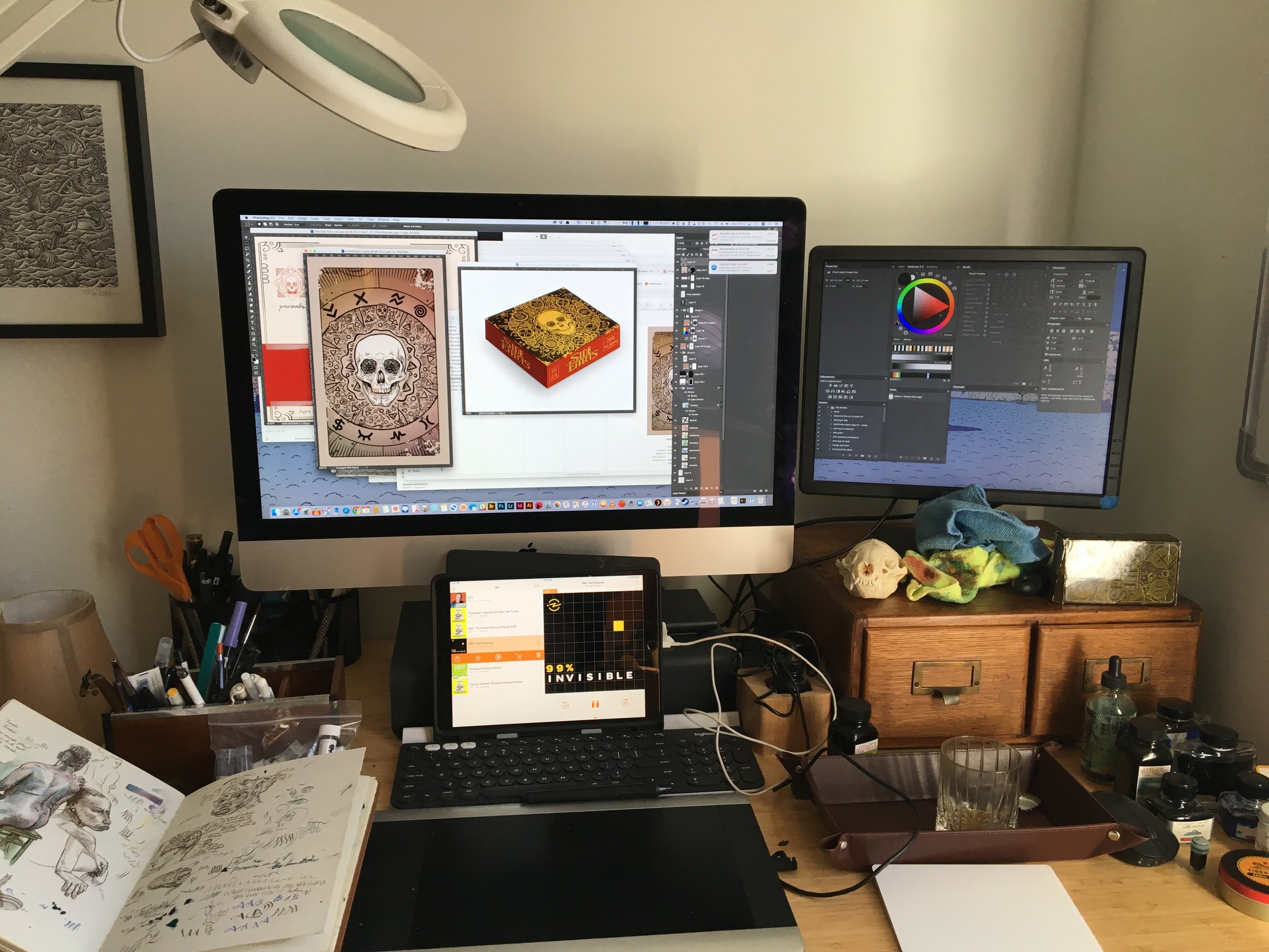 Side Effects - game and box design