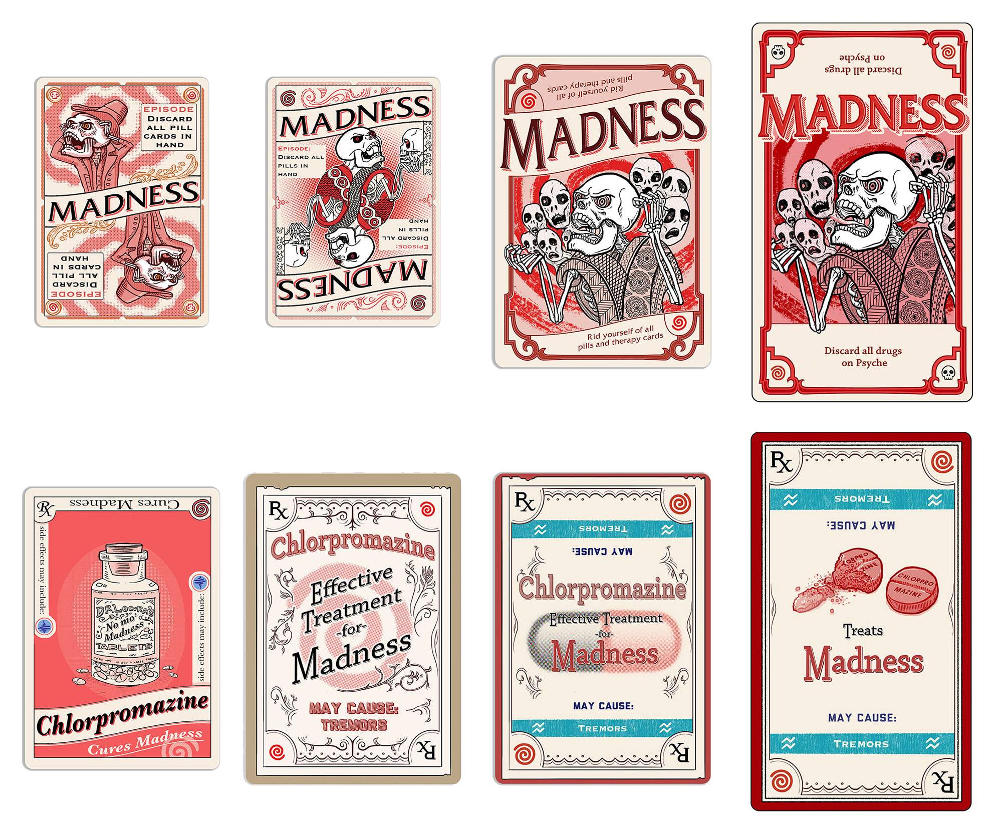 Side Effects - playing card development